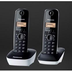 TELEFONO CORDLESS PANASONIC KXTG1612JTW DUO