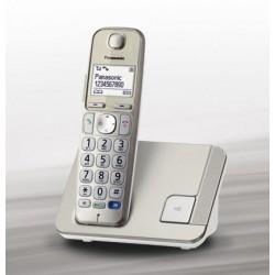 TELEFONO CORDLESS PANASONIC KXTGE210JTN  TASTI GRANDI