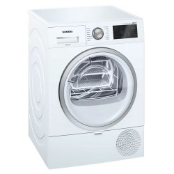 ASCIUGATRICE SIEMENS WT7WH608IT 8KG CL.A++ SELF CLEANING CONDESER - CESTELLO DELICATI